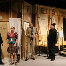"""Grenzlandtheater Premiere von """"Der nackte Wahnsinn"""" am 14.08.2008, eine Farce von Michael Frayn"""