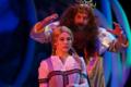Bühne - Die Hexe Baba Jaga und Zar Wasserwirbel
