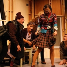 """Grenzlandtheater Premiere von """"Der nackte Wahnsinn"""" am 14.08.2008 , eine Farce von Michael Frayn"""